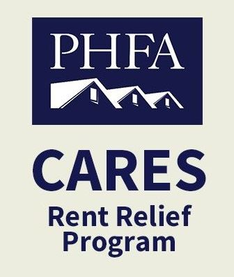 An image linking to forms and information regarding the PA Housing Finance Agency Rent Relief Progra