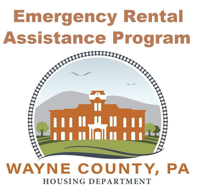 A button linking to an information page on the Emergency Rental Assistance Program.
